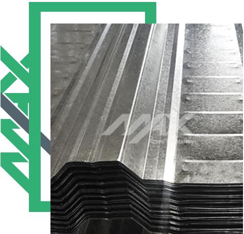 Lámina RN100-35 con revestimiento de zinc. Venta de láminas galvanizadas al mejor precio.