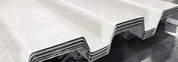 Lámina 91.5 en acabado pintro; acero calidad Ternium en Max Acero Monterrey.
