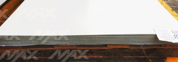 Lamina de acero pintro lisa, acero recubierto de Max Acero Monterrey.