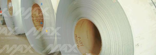 Lámina en rollo de acero pintro distribuida por Max Acero Monterrey.