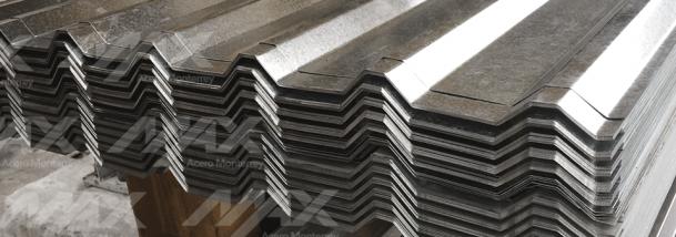 Lámina R-72 galvanizada, lámina recubierta de acero, distribución y venta en Max Acero Monterrey.