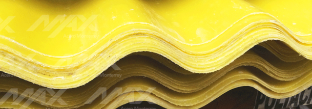 Lámina traslúcida poliacryl de Max Acero Monterrey.