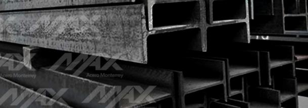 Viga IPR, perfil estructural de venta en Max Acero Monterrey.
